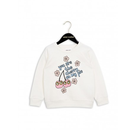 Mini Rodini Cherry SP Sweatshirt Pink