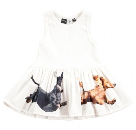 Molo Kids Cordelia Dress White