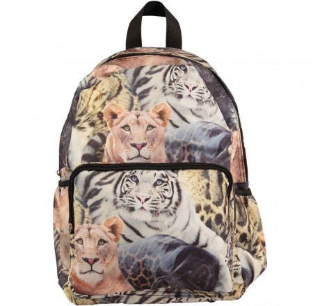 Molo Kids Big Backpack Wild Cats