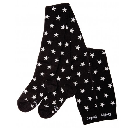 Ewers maillot Black with silver stars