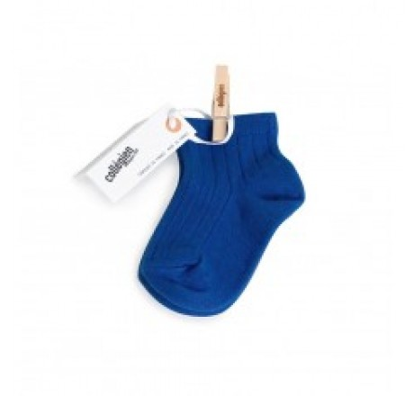 Collégien Ankle Socks Blue Eclatant