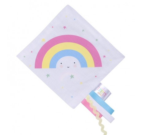 A Little Lovely Company Crinkle toy Rainbow
