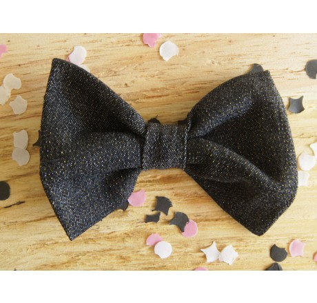 By KD Bowties Denim with a Sparkle