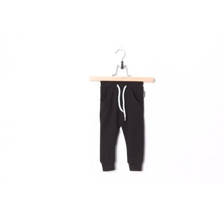 Lucky No.7 Black Baggy Pants