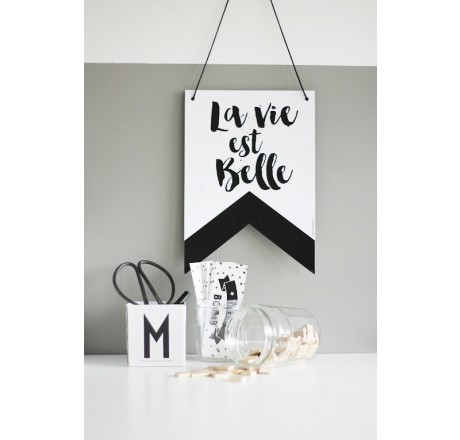 The Birds and the Bees Wallbanner La Vie est Belle