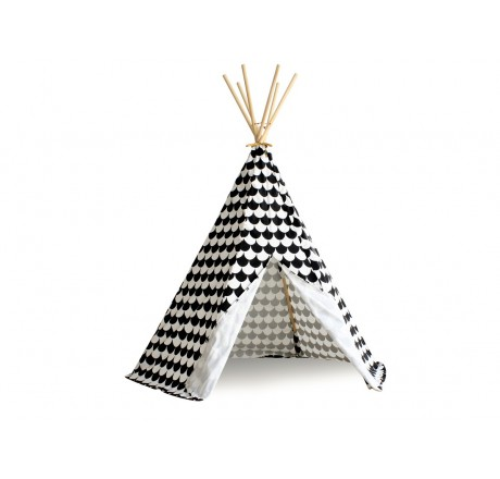 Nobodinoz Arizona Tipi black scales