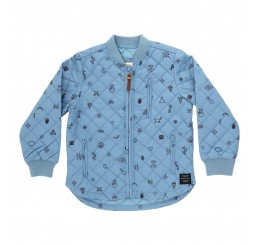 Soft Gallery Michell Thermo Jacket Smoke Blue