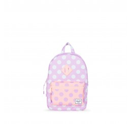 Herschel Heritage Kids Backpack Lupine Polka Dot