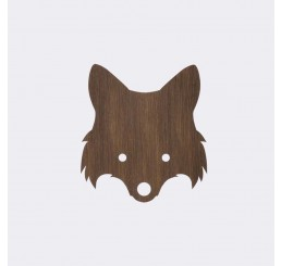 ferm Living Fox Lamp Smoked Oak