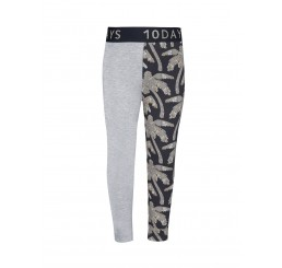 Little 10 Days Legging palm Charcoal