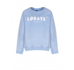Little 10 Days sweater lavender blue