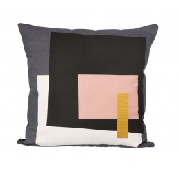 ferm Living Fragment Cushion - Grey