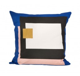 ferm Living Fragment Cushion - Blue