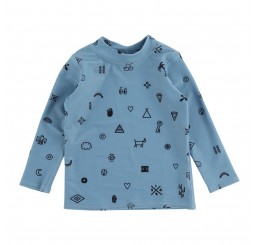Soft Gallery Baby Astin swim shirt Smoke Blue