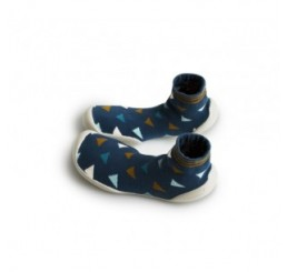 Collégien Slippers Totems Blue