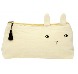 Emile et Ida Panpan Pencil case Citron