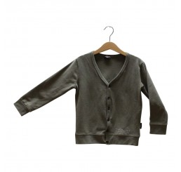 Lucky No.7 Army Green Cardigan