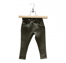 Lucky No.7 Army Green Jogdenim Pants