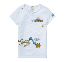 Scotch R'Belle Tee with placed artworks