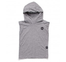 Nununu HOODED NINJA SHIRT Heather Grey
