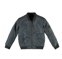 Finger in the Nose BUDDY Slate Grey Bomber jacket