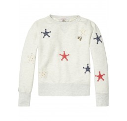 Scotch R'Belle  Star Patterned Sweater  Combo A