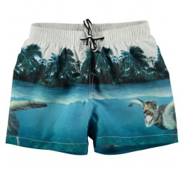 Molo Niko Swimshorts Singing Turtle