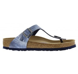Birkenstock Gizeh Washed Out Jeans Blue BF Narrow
