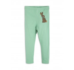 Mini Rodini RABBIT SP LEGGINGS green