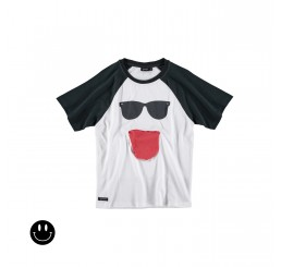 Yporqué Cool Pocket raglan tee White