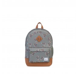 Herschel Heritage Youth Sticks&Stones/Tan Leather