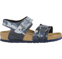 Birkenstock New York City Camo Blue Narrow BF