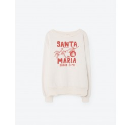 TAO Bear Kids Sweatshirt Raw White Santa Maria