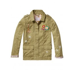 Scotch R'Belle Worker Jacket with embroideries