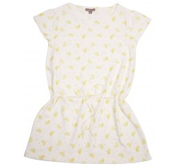 Emile et Ida Dress Sucre All-over Citron