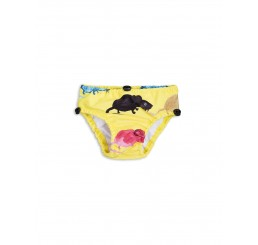 Mini Rodini MR MOUSE BABY SWIMPANTS Yellow