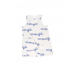 Tinycottons moujik name tank dress