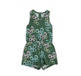 Mini Rodini DAISY SUMMERSUIT Dark Green