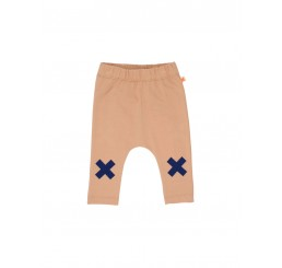 Tinycottons logo pant nude/blue