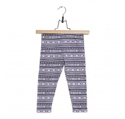Lucky No.7 Ethnic Safari Ethnic Block Legging