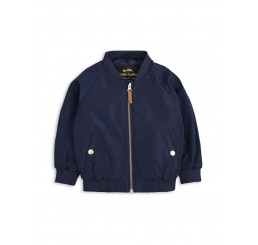 Mini Rodini FROG BASEBALL JACKET Navy