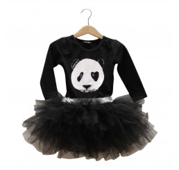 Lucky No.7 Panda Tutu Dress