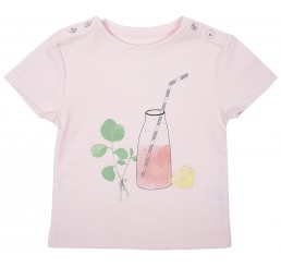 Emile et Ida T-shirt  Rose Pale