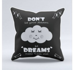 Sparkling Paper Cushion Dreams make them real