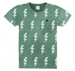 The Future is Ours T-shirt Thunder Green