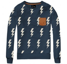 The Future is Ours Sweater Thunder Blue