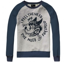 The Future is Ours Sweater Need for Speed Grey