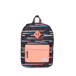 Herschel Heritage Youth Comets/Fresh Salmon/Fresh Salmon Rubber