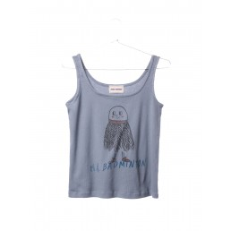 Bobo Choses Tank Top Mr. Badmonton Cloud Blue