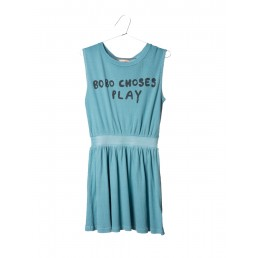 Bobo Choses Tennis Dress B.C. Play Turquoise